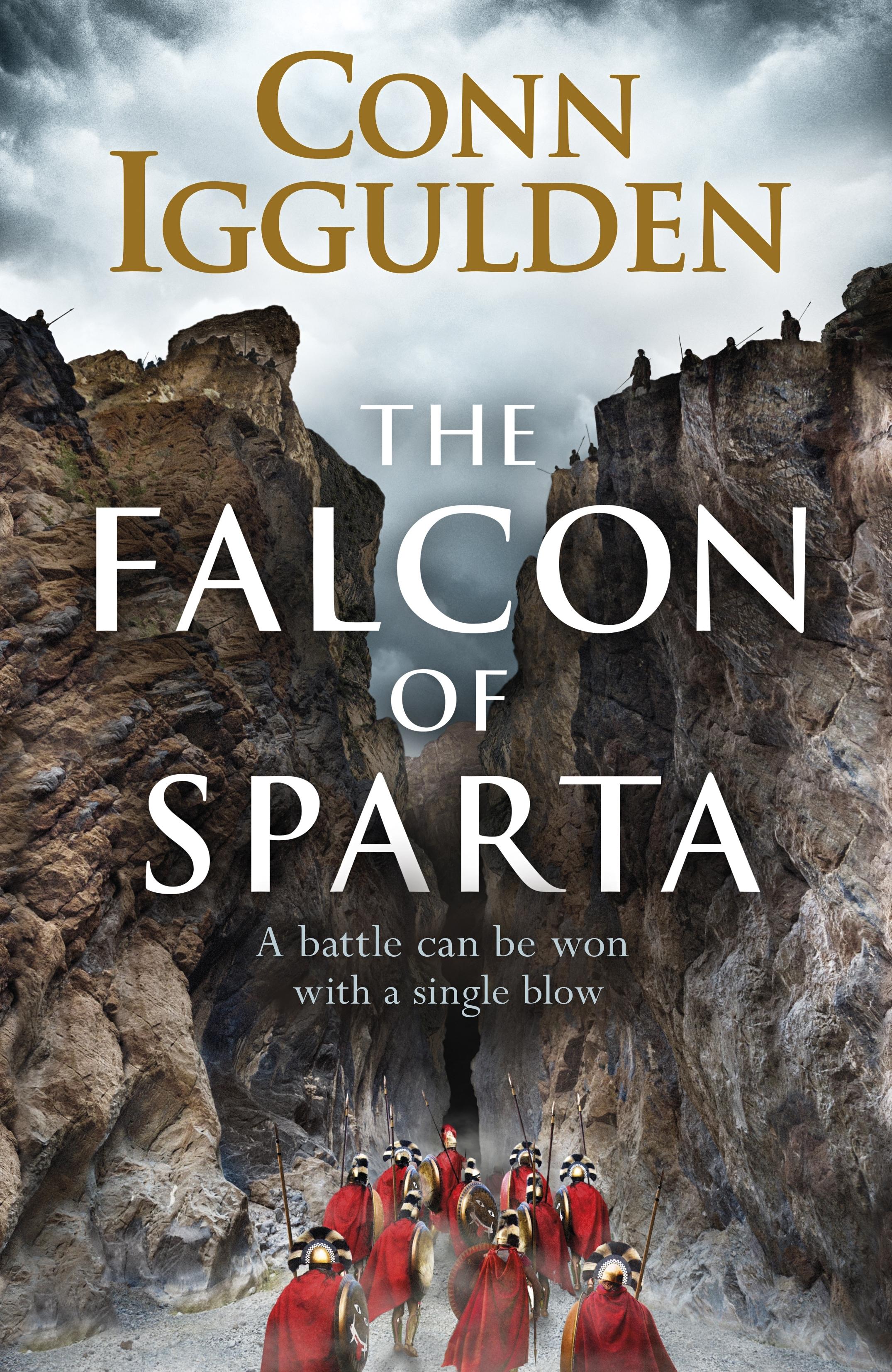 THe Falcon of Sparta Cover