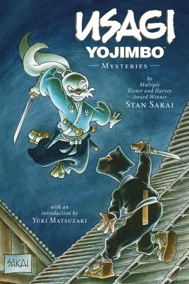 Usagi Yojimbo Mysteries Cover