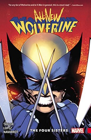 All-New Wolverine Volume 1 Cover