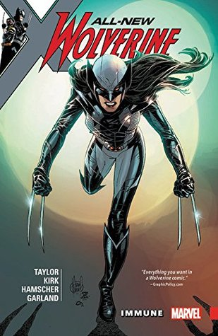 All-New Wolverine Volume 4 Cover