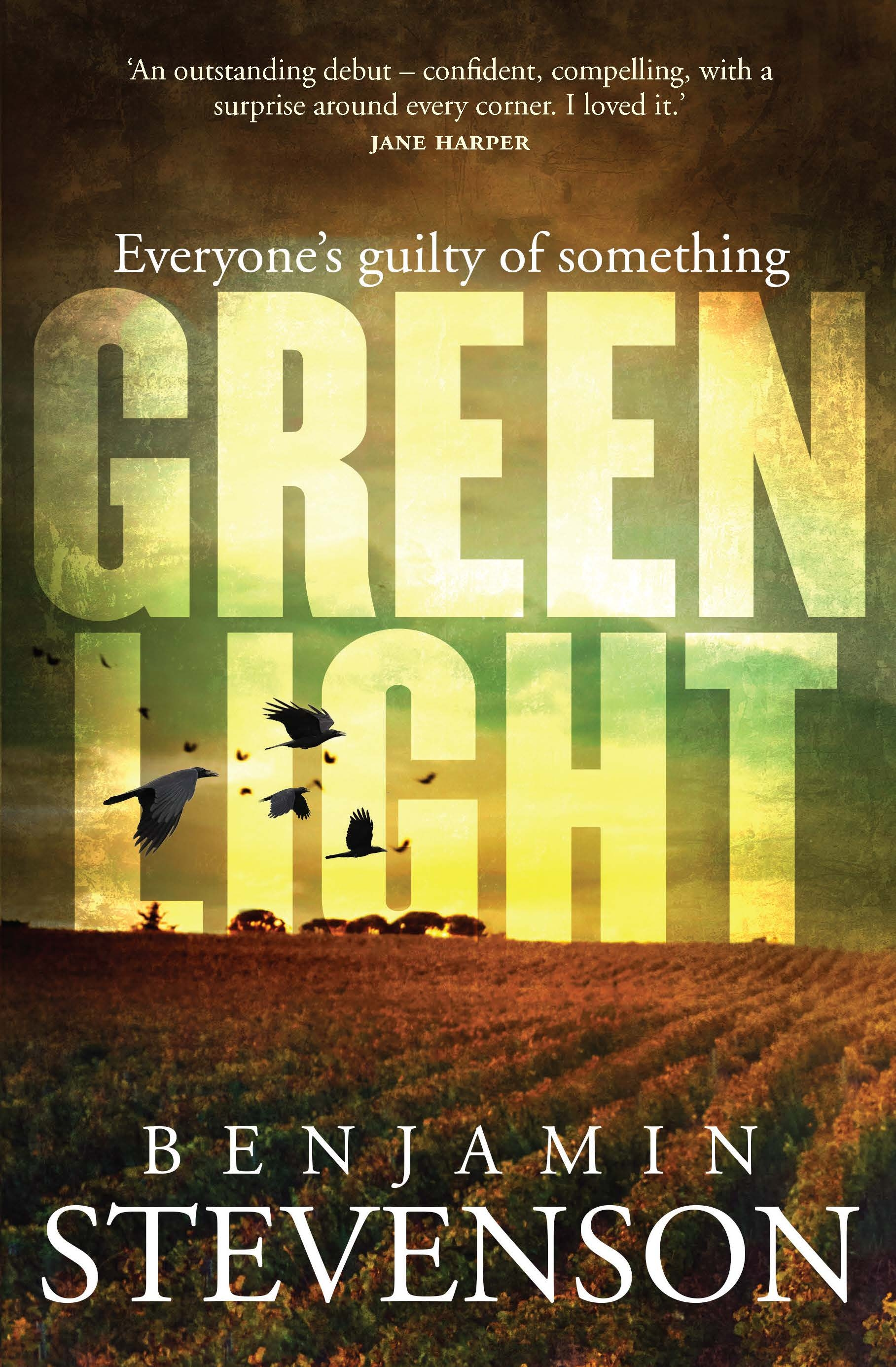 Greenlight by Benjamin Stevenson Cover