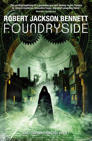Foundryside Cover