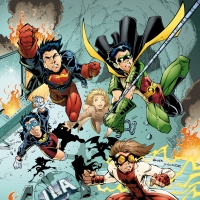 Young Justice - Book Three by Peter David and Todd Nauck