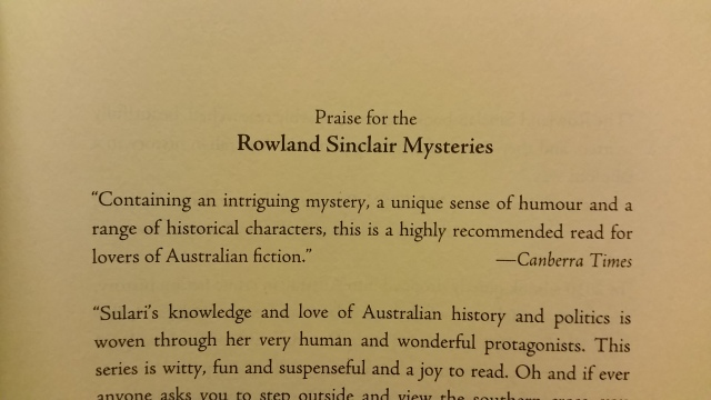 rowland sinclair previous review