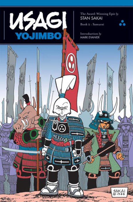 Usagi Yojimbo Samurai Cover