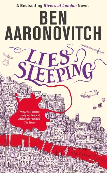 Lies Sleeping Cover