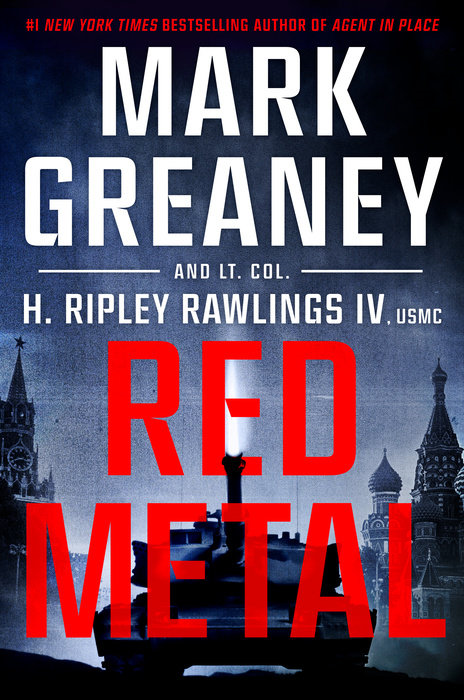 Red Metal Cover