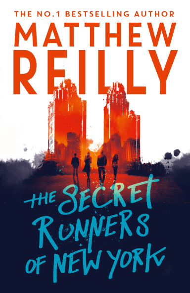 The Secret Runners of New York Cover