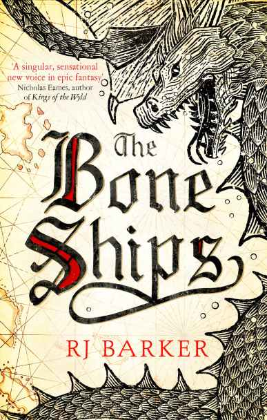 The Bone Ships Cover