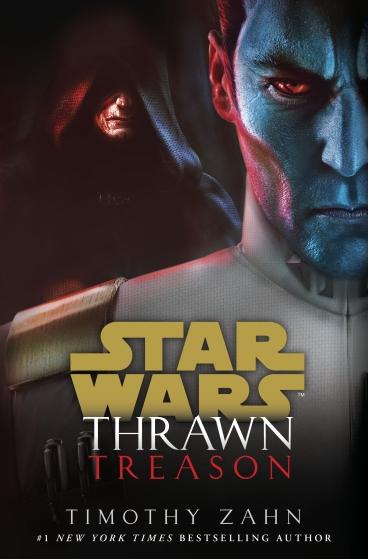 Thrawn Treason Cover