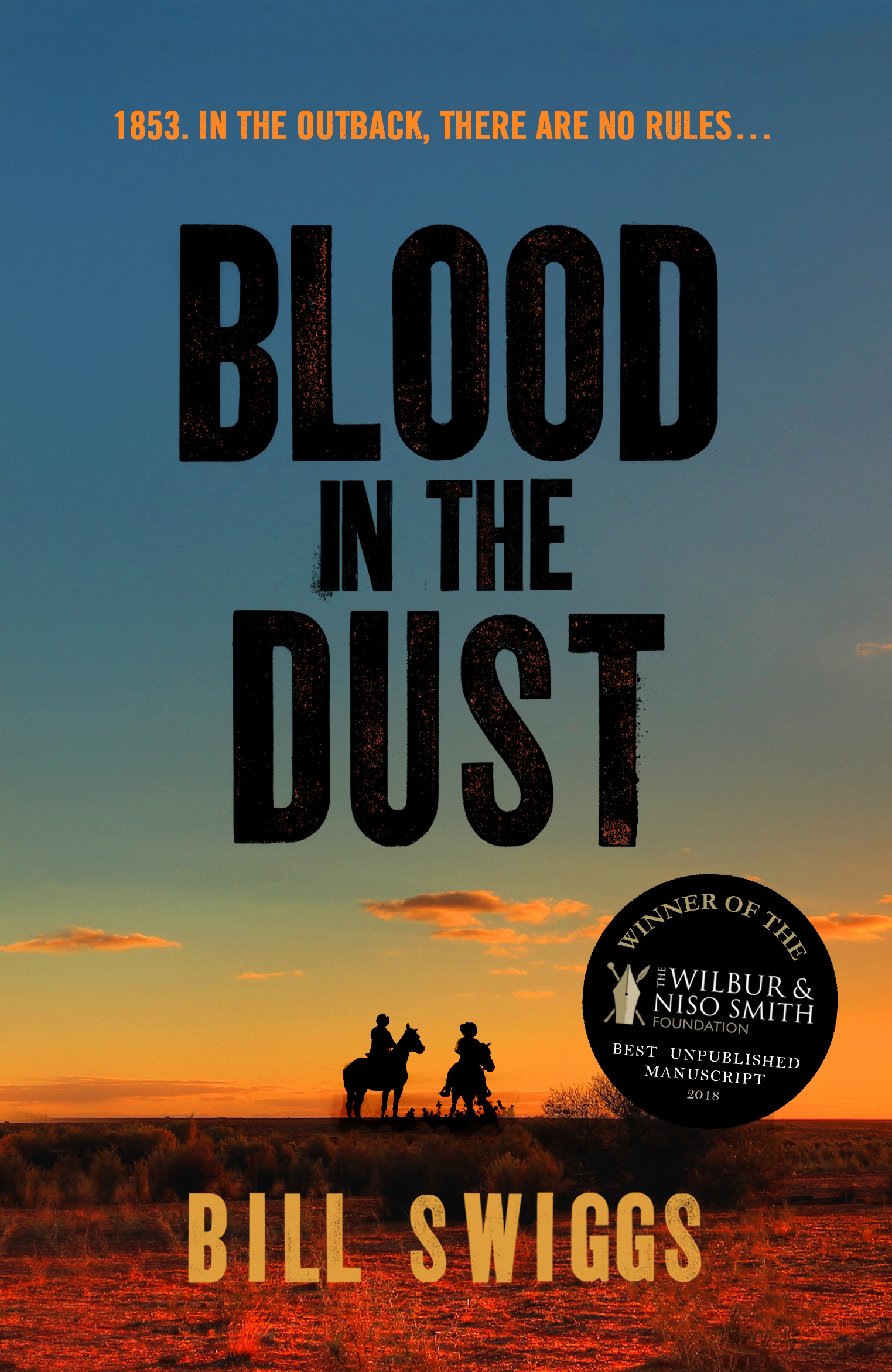 Blood in the Dust Cover