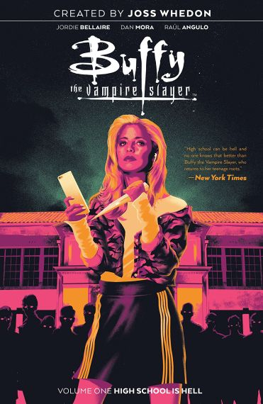 Buffy The Vampire Slayer - High School is Hell Cover.jpg