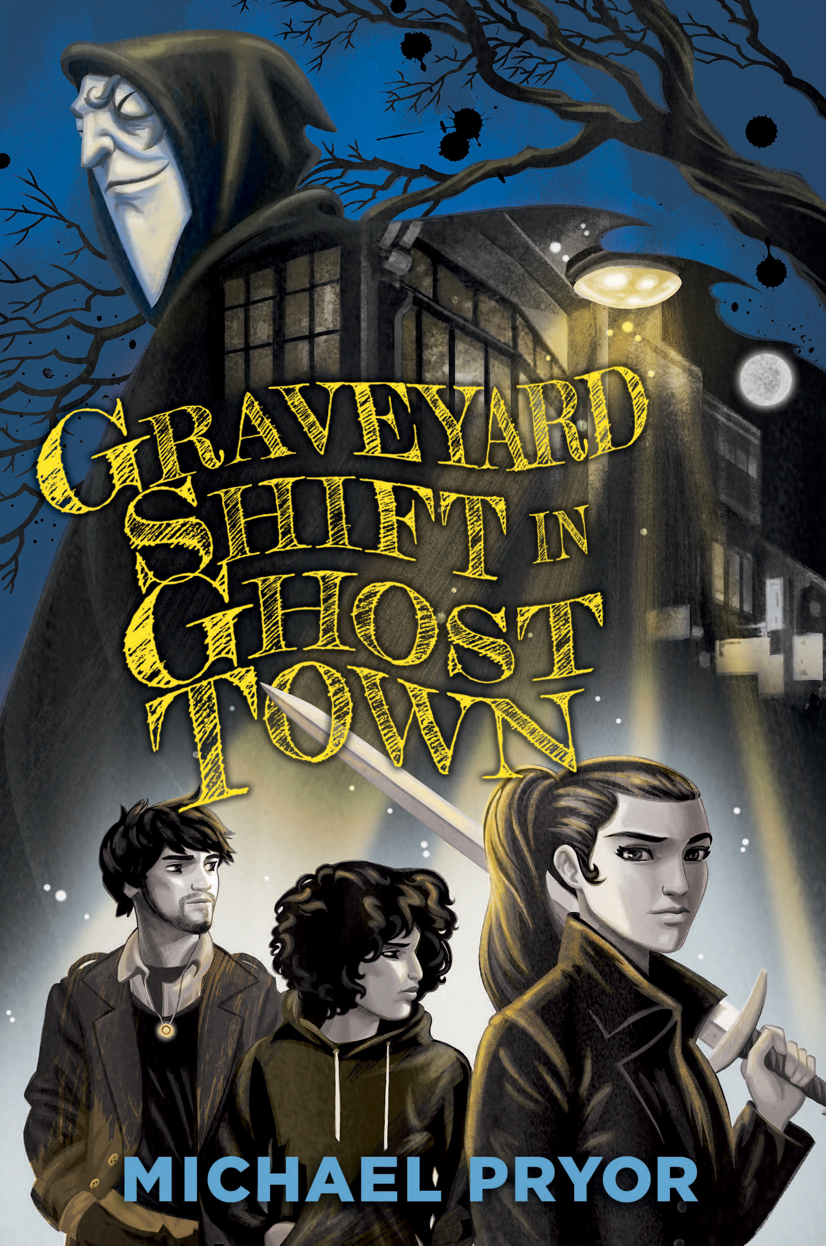 Graveyard Shift in Ghost Town Cover