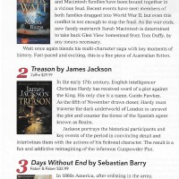 Throwback Thursday - Canberra Weekly Column - Historical Fiction