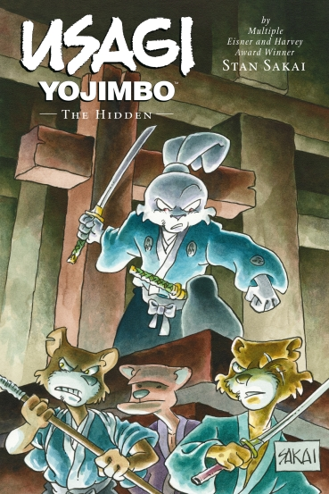 Usagi Yojimbo The Hidden Cover