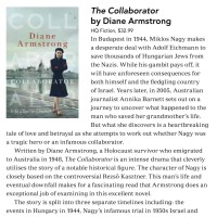 Canberra Weekly Column - The Collaborator