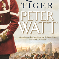 Cover Reveal - The Queen's Tiger by Peter Watt