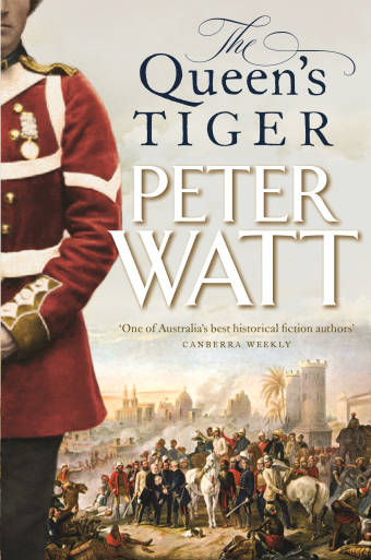 The Queen's Tiger Cover