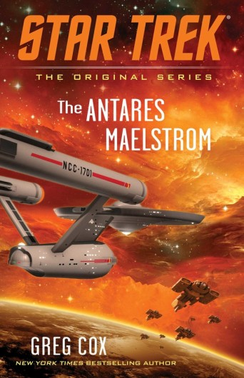 Star Trek - The Antares Maelstrom Cover