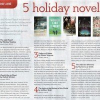 Canberra Weekly Column - Suggested Holiday Reads