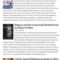 Canberra Weekly Column - Crime Fiction