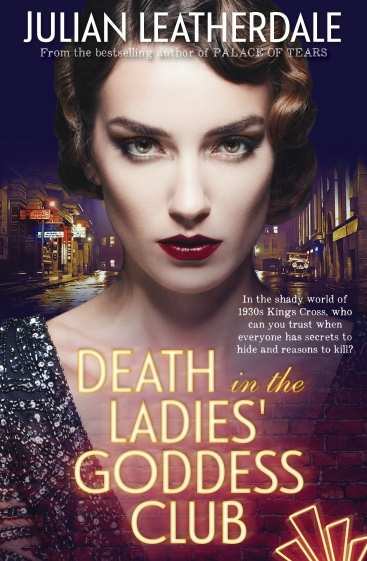 Death in the Ladies Goddess Club Cover