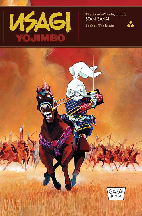 Usagi Yojimbo The Ronin Cover