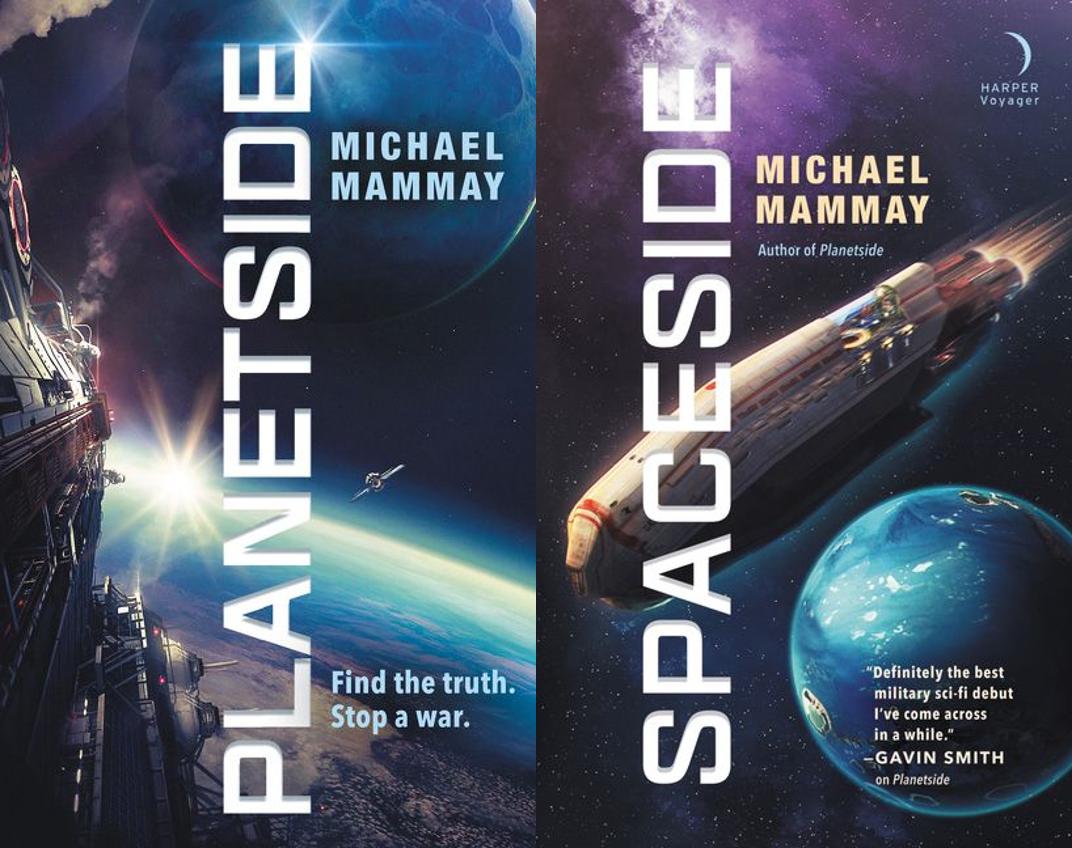 Planetside, Spaceside Covers