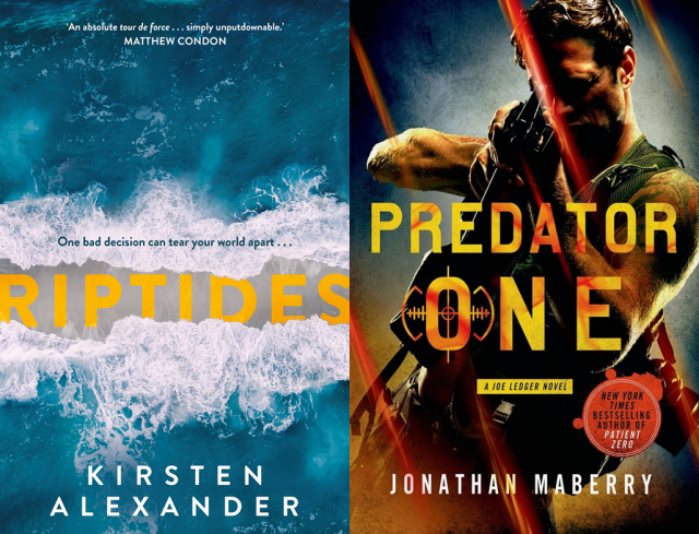 Riptides, Predator One Covers