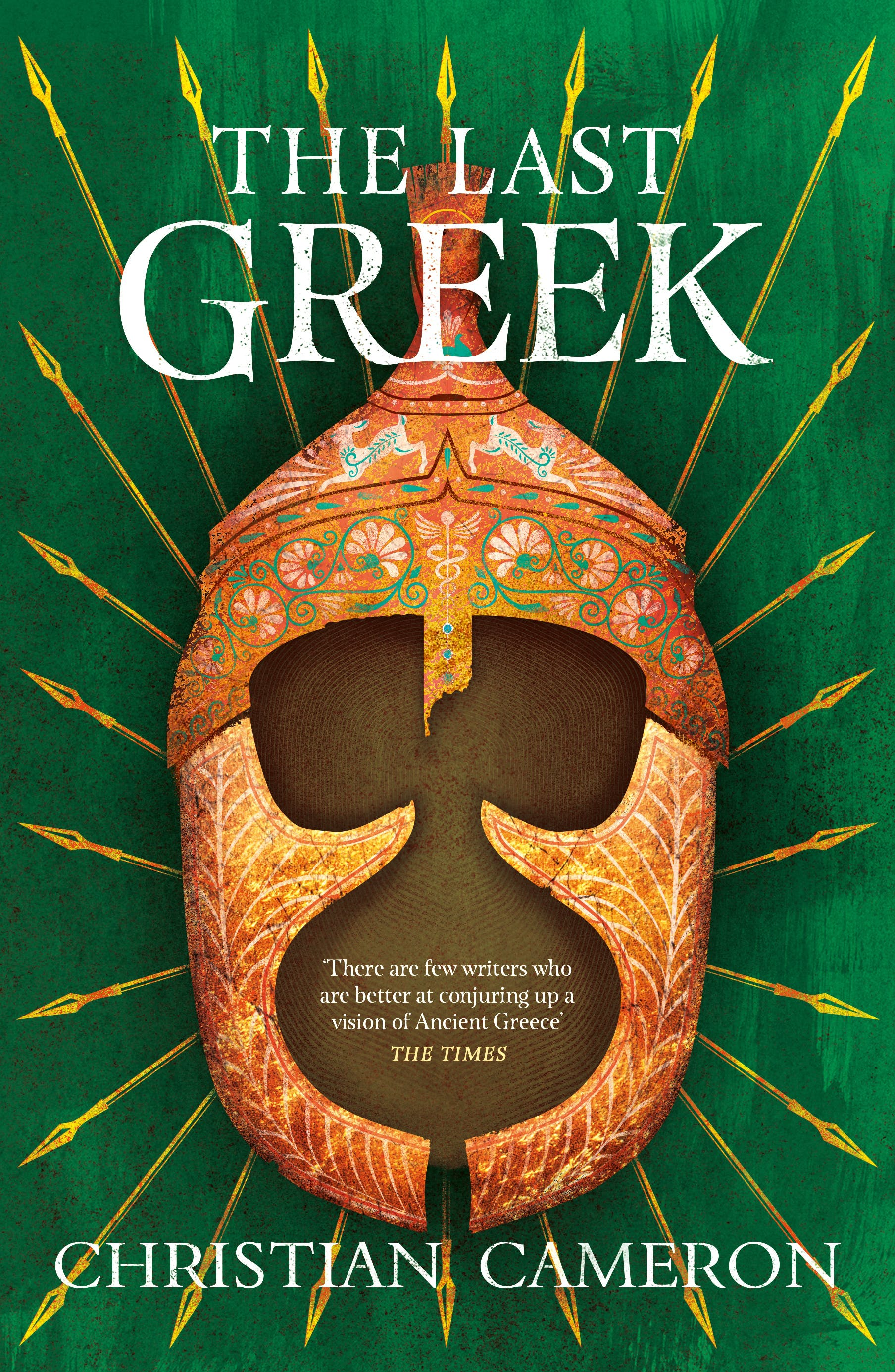 The Last Greek Cover