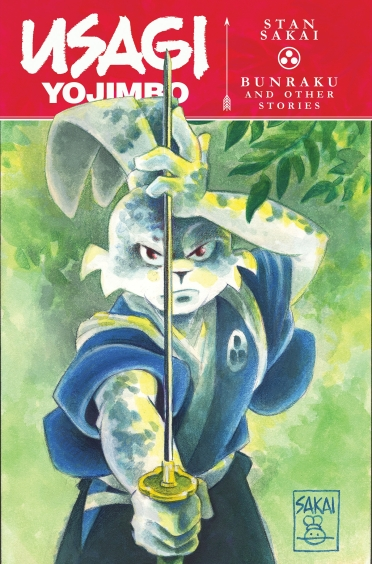 Usagi Yojimbo Bunraku and Other Stories Cover