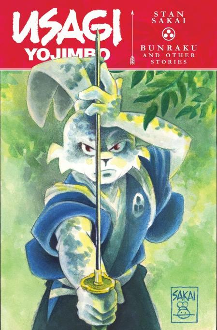 Usagi Yojimbo Bunraku and Other Stories Cover