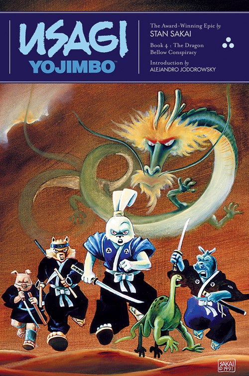 Usagi Yojimbo The Dragon Bellow Conspiracy