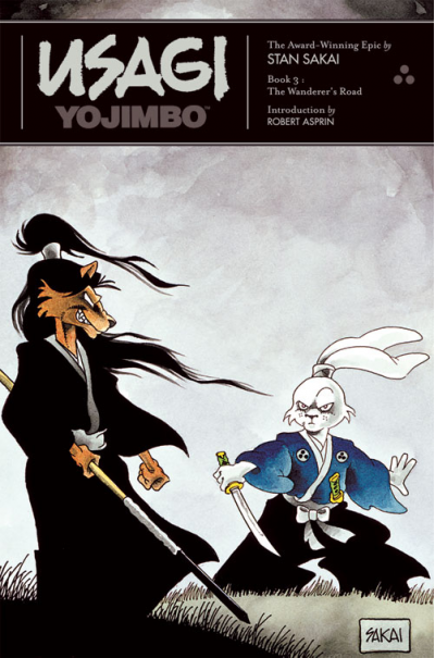 Usagi Yojimbo The Wanderer's Road Cover