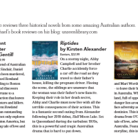 Canberra Weekly Column - Australian Historical Fiction
