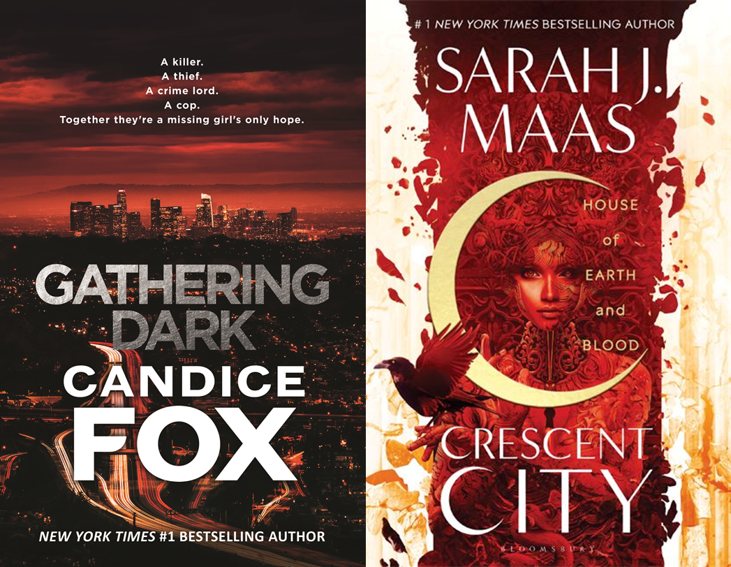 Gathering Dark, House of Earth and Blood Covers
