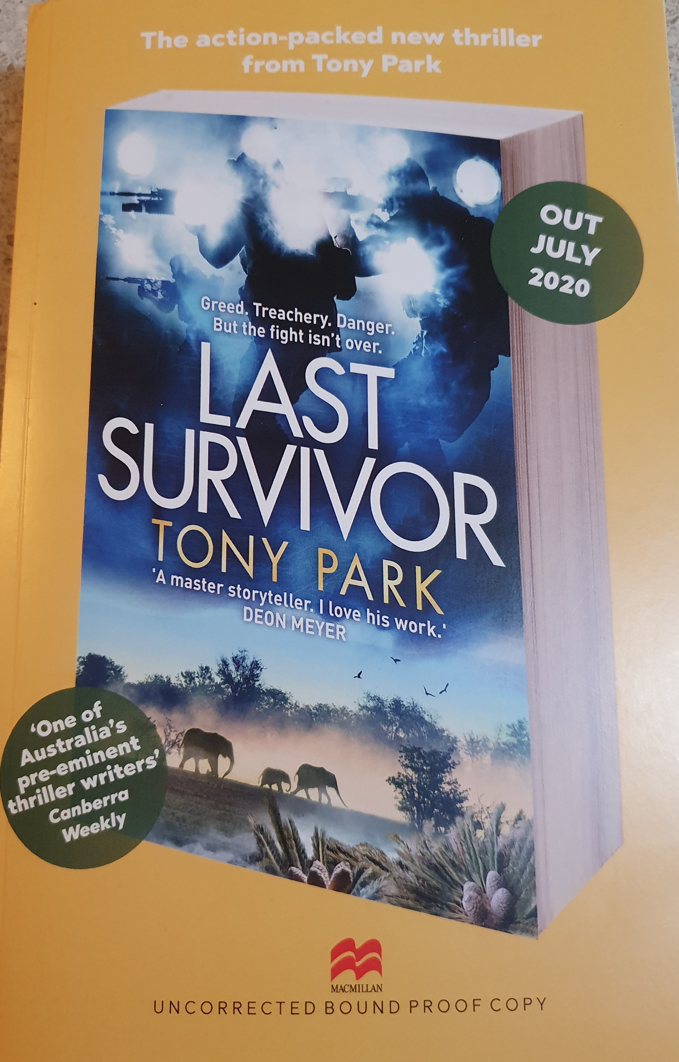 Last Survivor Cover - Uncorrected Proof