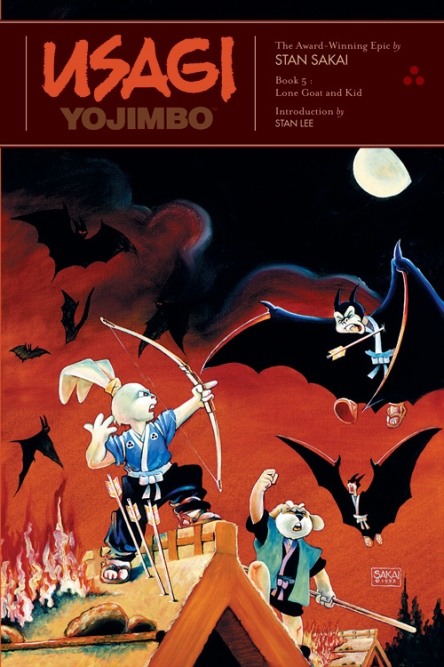 Usagi Yojimbo Lone Goat and Kid Cover