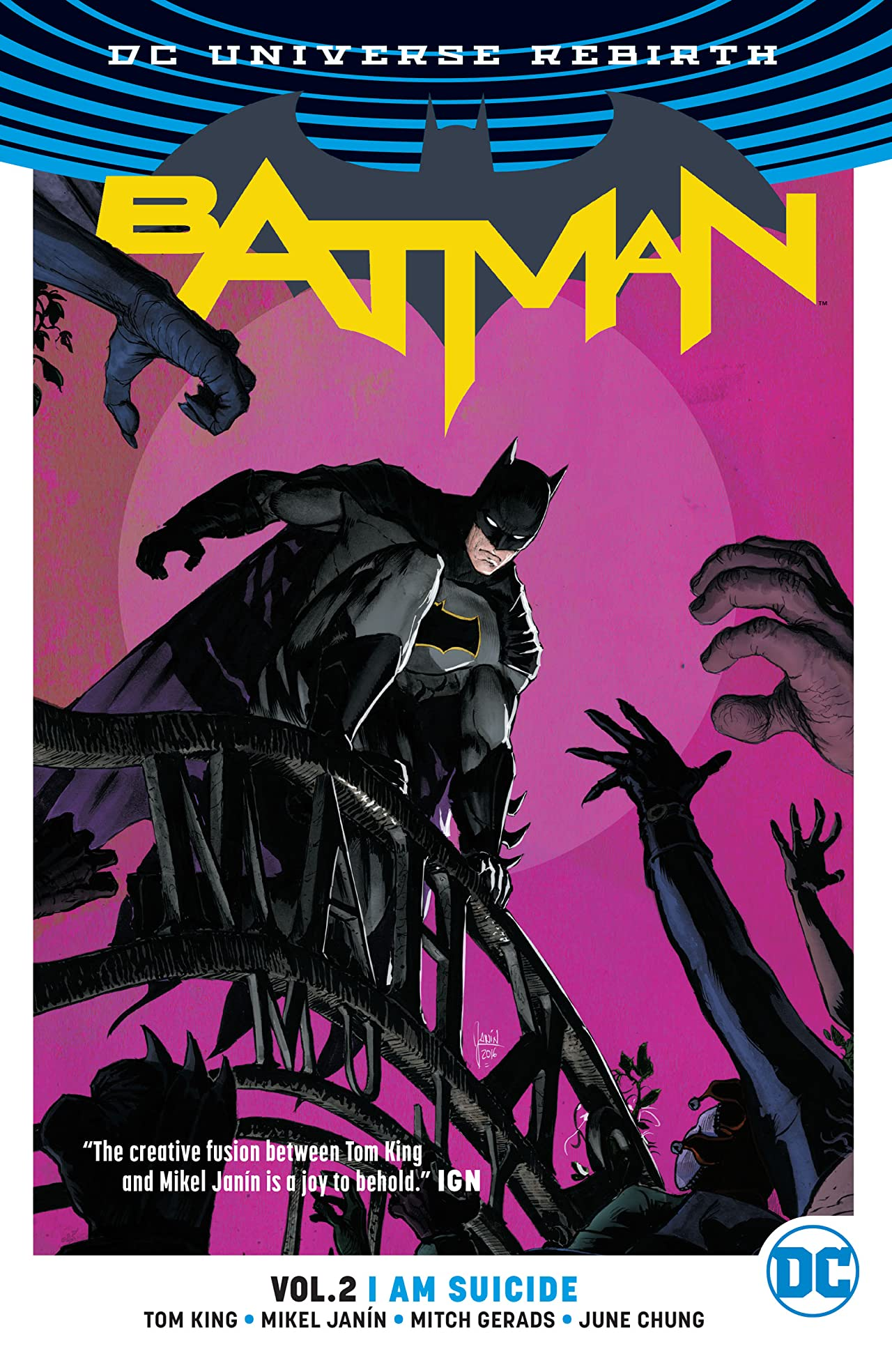 Batman I am Suicide Cover