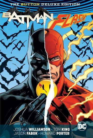 Batman, The Flash - The Button Cover