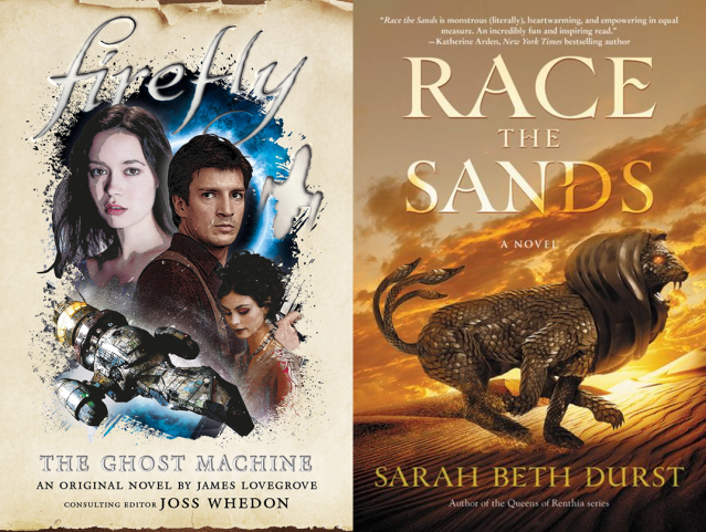 Firefly, Race the Sands Covers