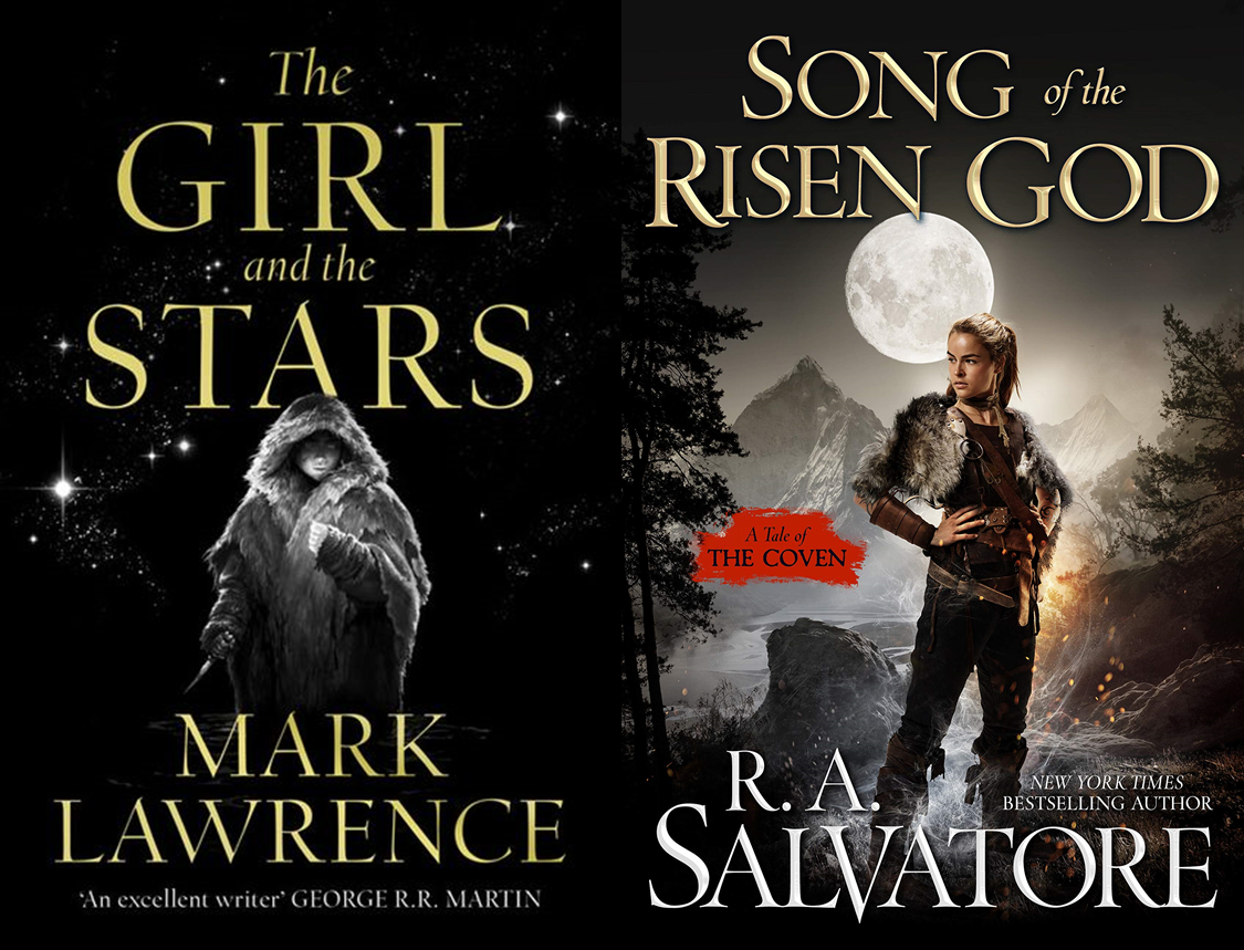 Mark Lawrence and R. A. Salvatore Covers