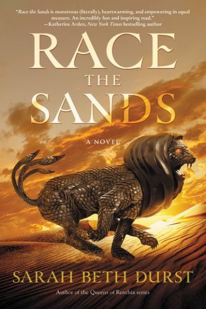 Race the Sands Cover