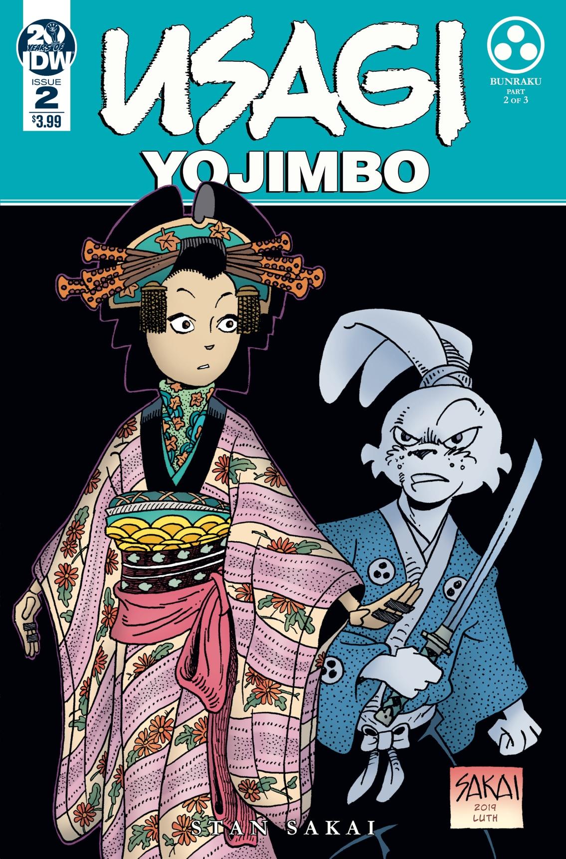 Usagi Yojimbo #2