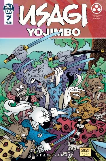 Usagi Yojimbo #7