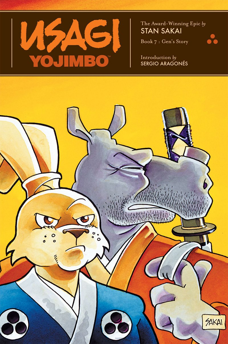 Usagi Yojimbo Gen's Story