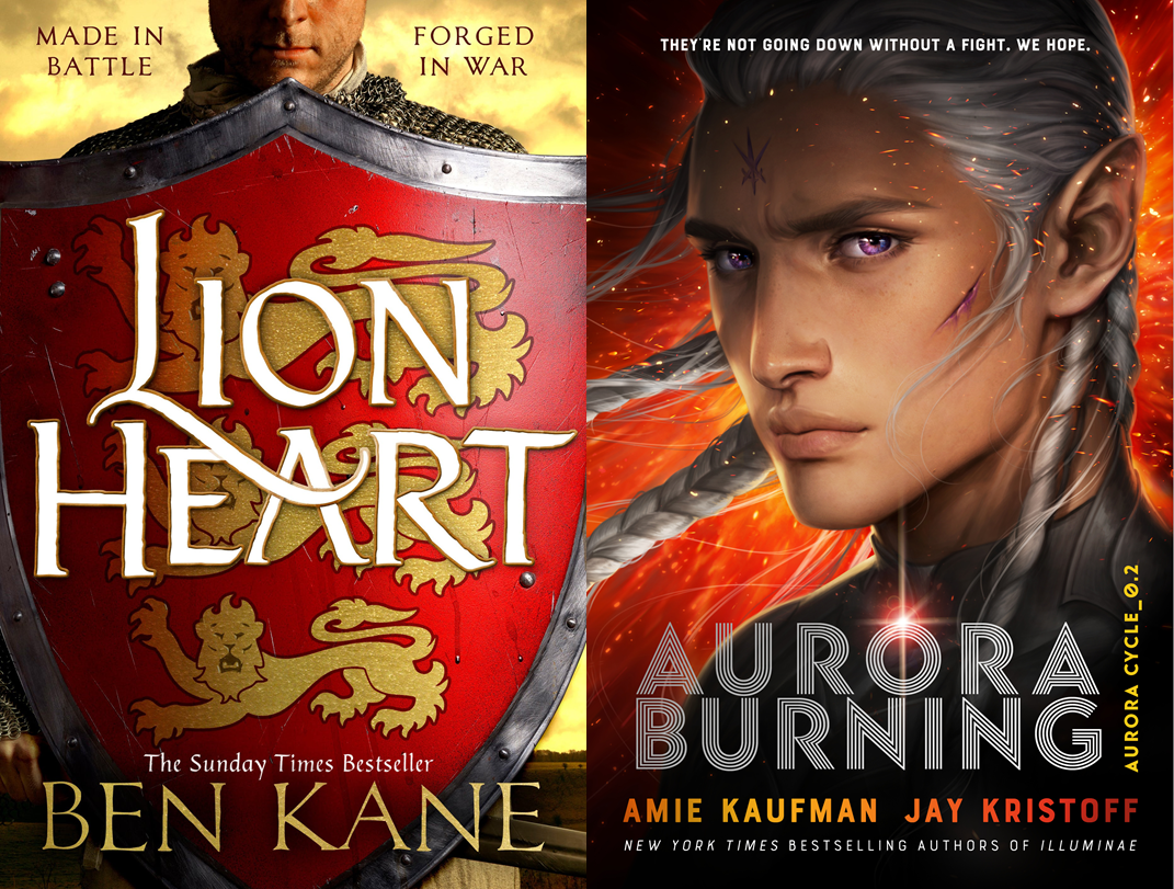 Lionheart, Aurora Burning Covers
