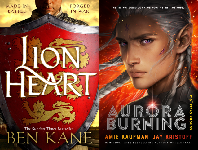 Lionheart, Aurora Burning Covers