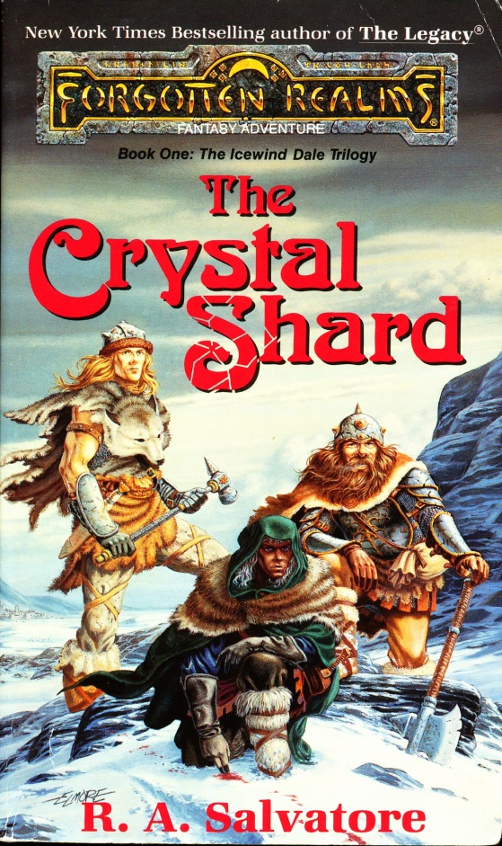 The Crystal Shard Cover