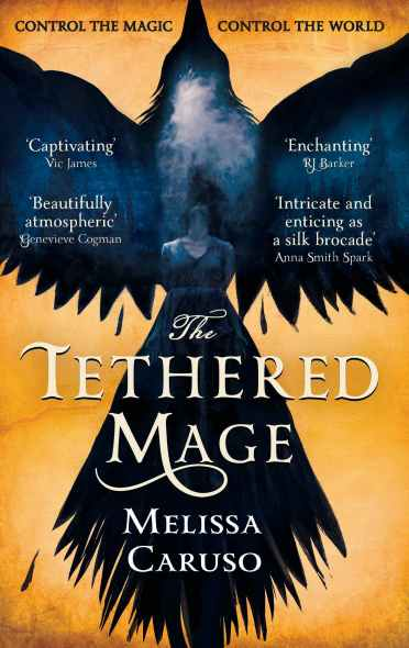 The Tethered Mage Cover